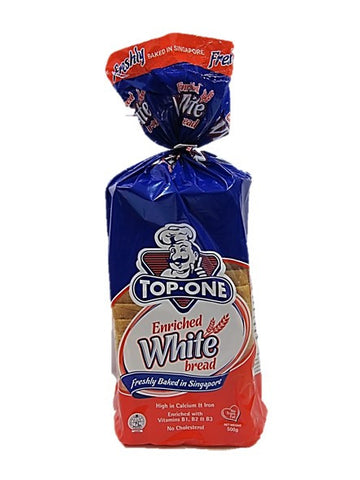Top One Enriched White Bread 500g