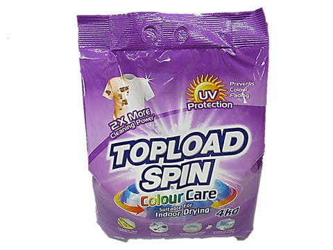 Topload Spin Colour Care Suitable for Indoor Drying 4kg