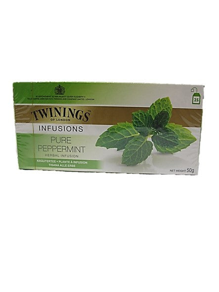 Twinings Classics Pure Peppermint 25 Teabags 50g