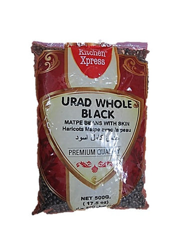 Kitchen Xpress Urad Whole Black 500g