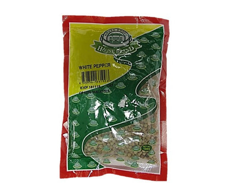 House Brand White Pepper 100g