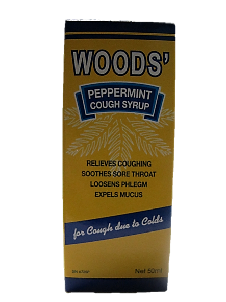 Woods' Peppermint Cough Syrup 50ml