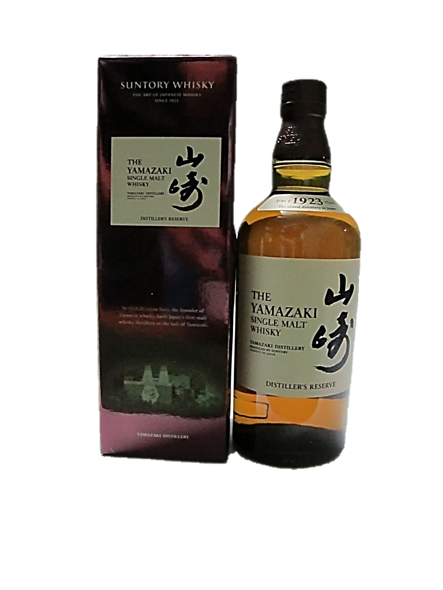 The Yamazaki Single Malt Whisky Distiller's Reserve 700ml