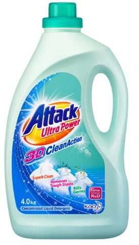 Attack ultrapower action liquid detergent 4kg
