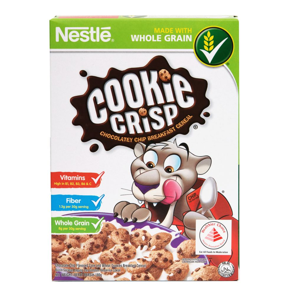 Nestle Cookie Crisp (Chocolate Chip Breakfast Cereal) 330g