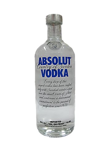Absolut Vodka Original 750ml