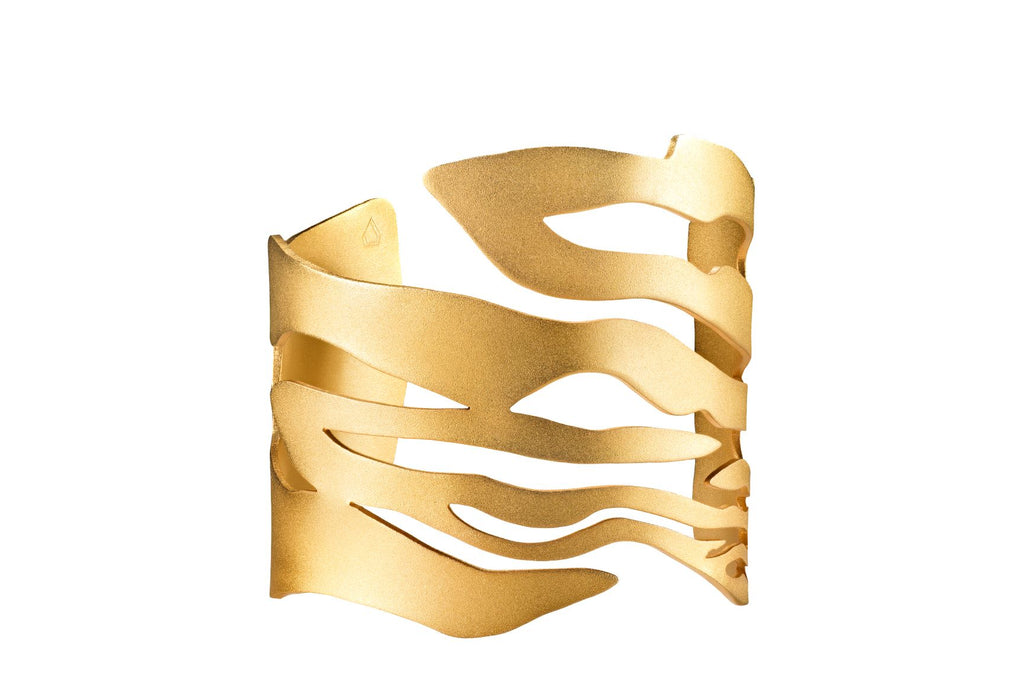 Ripple Waves Cuff - Jude Benhalim