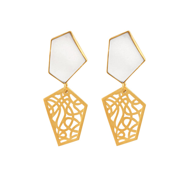 Intertwine Earring - Jude Benhalim