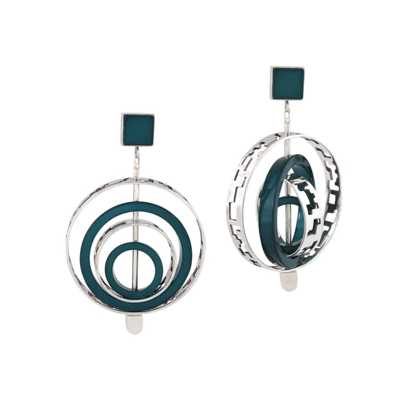 Interchangeable Mega Router earring