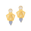 Mosaic Earrings - Jude Benhalim