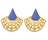Semi-circle Cutout Earrings - Jude Benhalim
