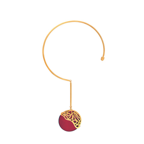 Tangled Wires Necklace - Red Revolution Edition - Jude Benhalim