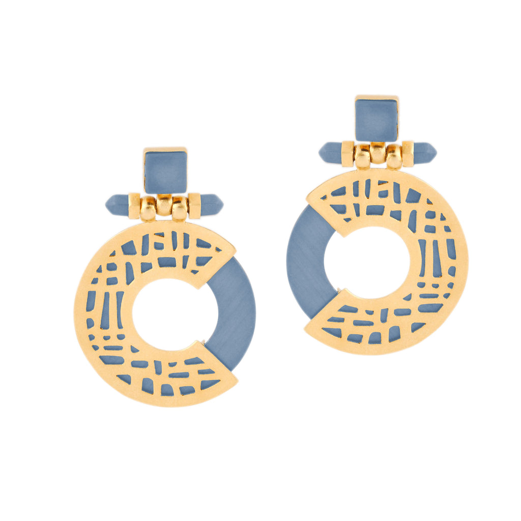 Urban Maze Earrings - Jude Benhalim