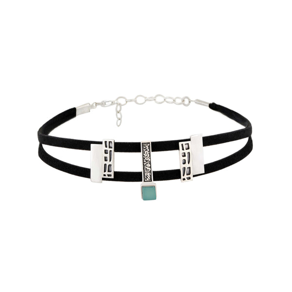 Building Blocks Choker - Jude Benhalim