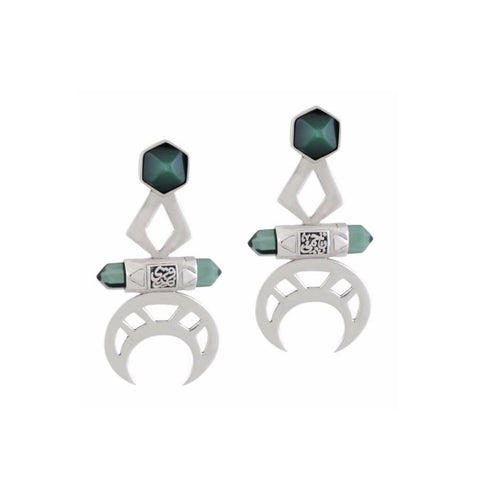 Crescent Earrings - Jude Benhalim