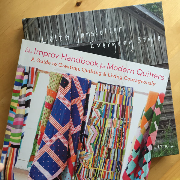 Two books from QuiltCon