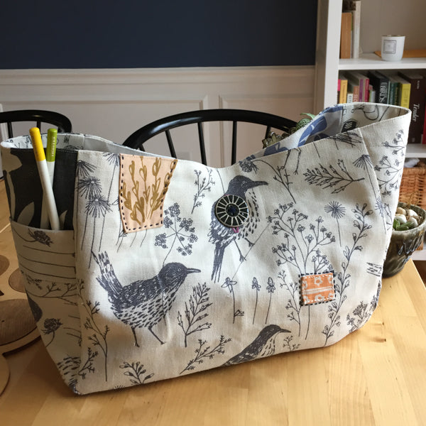 Side Handled Gusset TOte