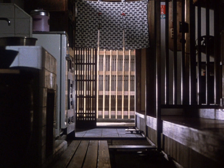 Ozu End of Summer kitchen scene