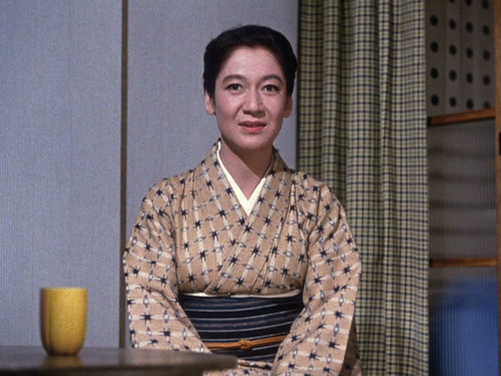 Ozu End of Summer yellow cup