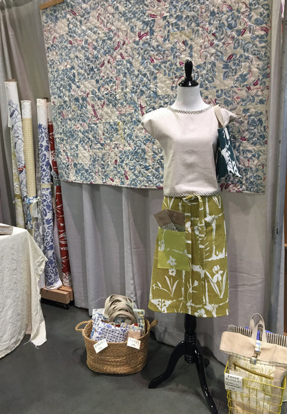 Quiltcon booth 2019
