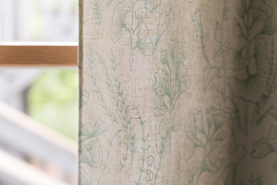 Curtains by Sara Parker Textiles