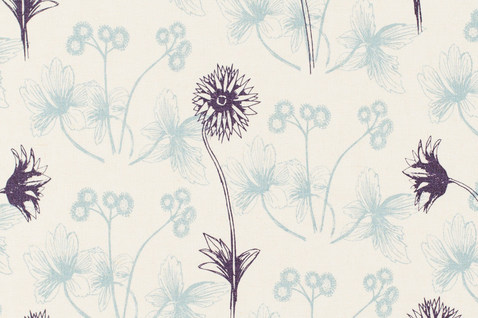 hand printed fabric by the yard by sara parker textiles