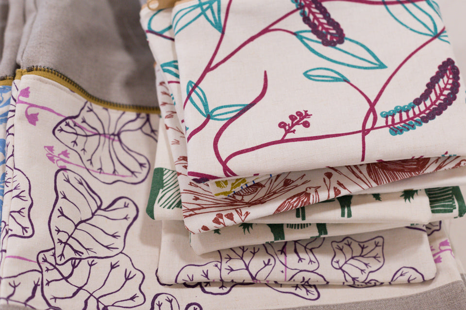 Pouches by Sara Parker Textiles