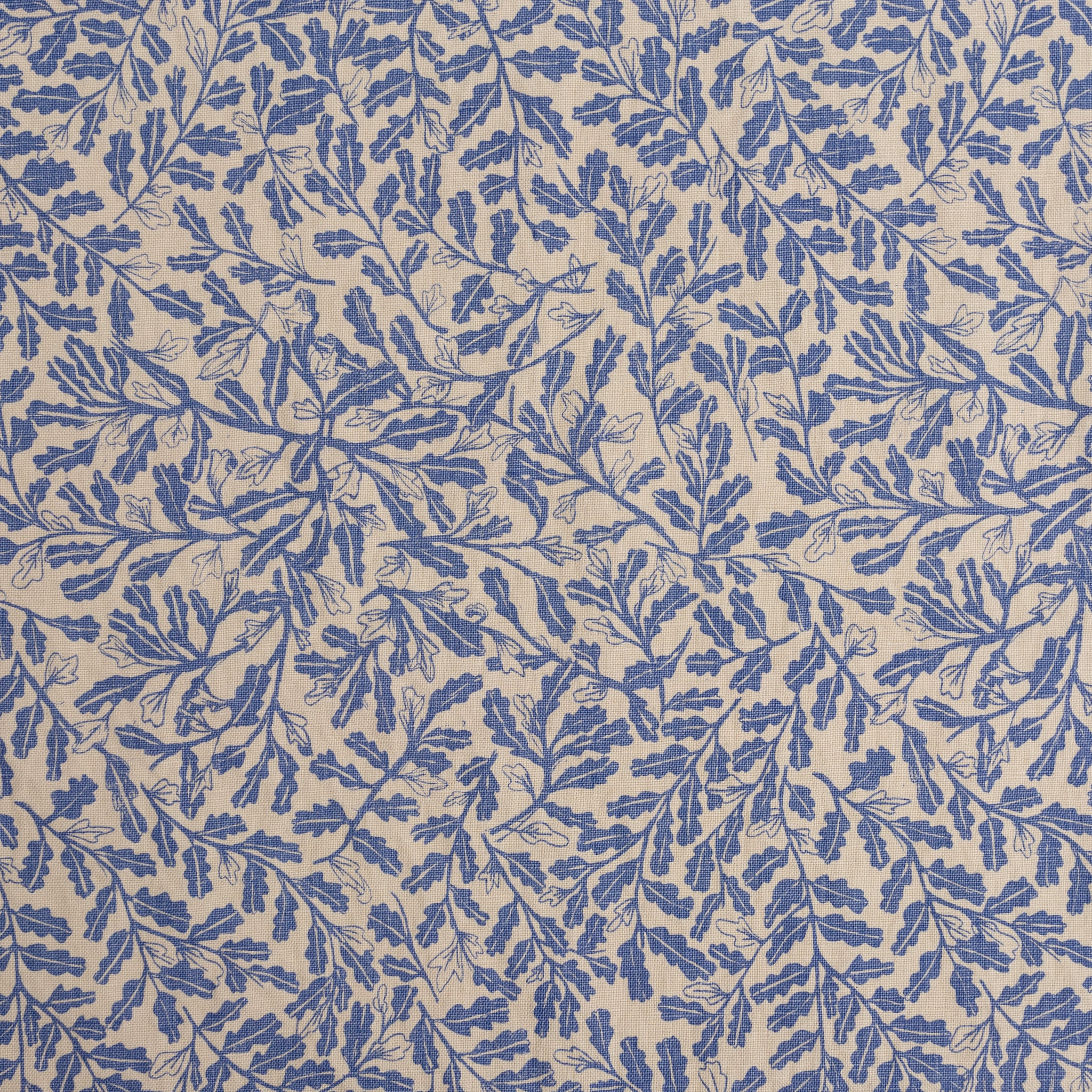 Parlor in Cornflower: 1/4 Yard (Linen)