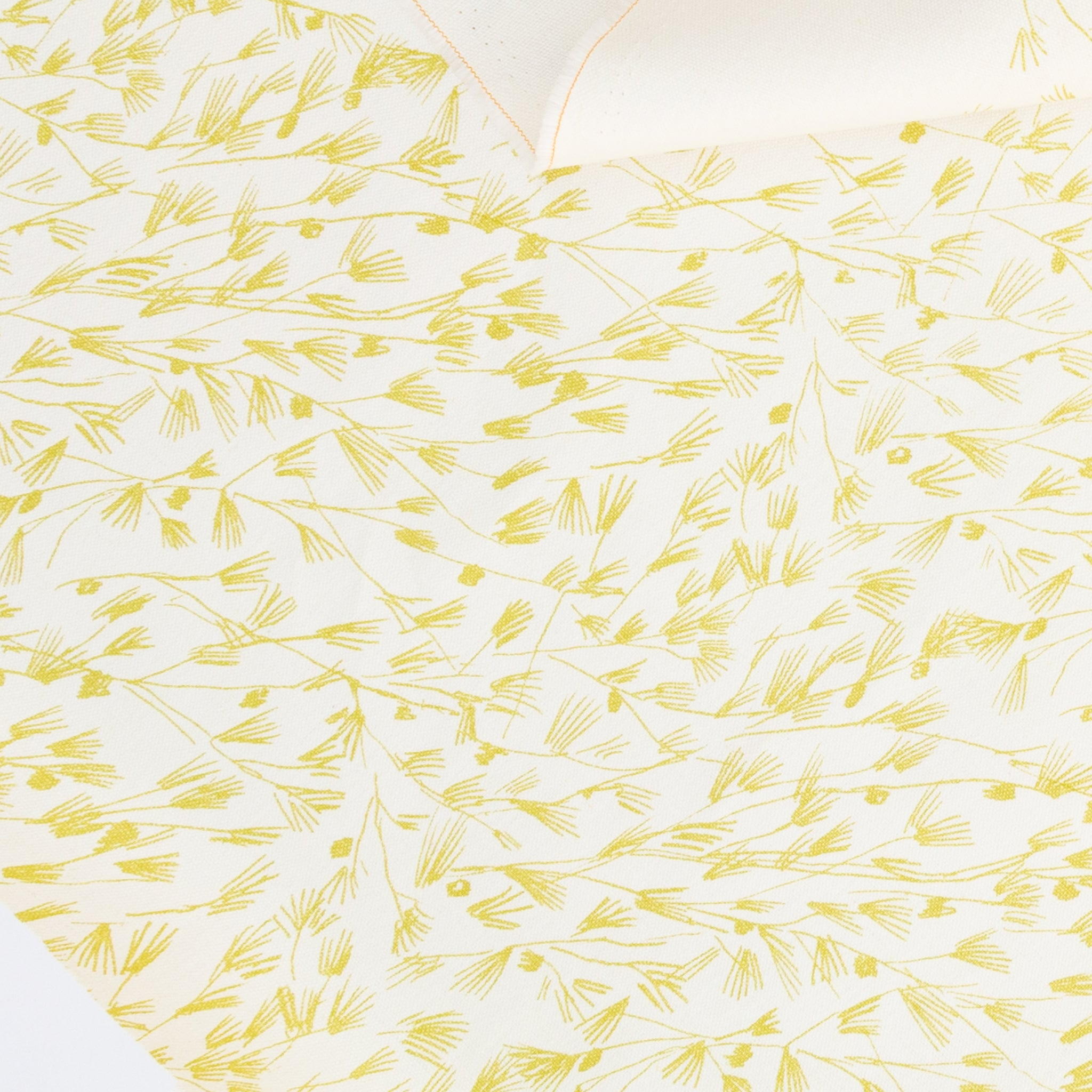 Pine in Limoncello: 1/4 Yard (Mid Wt)
