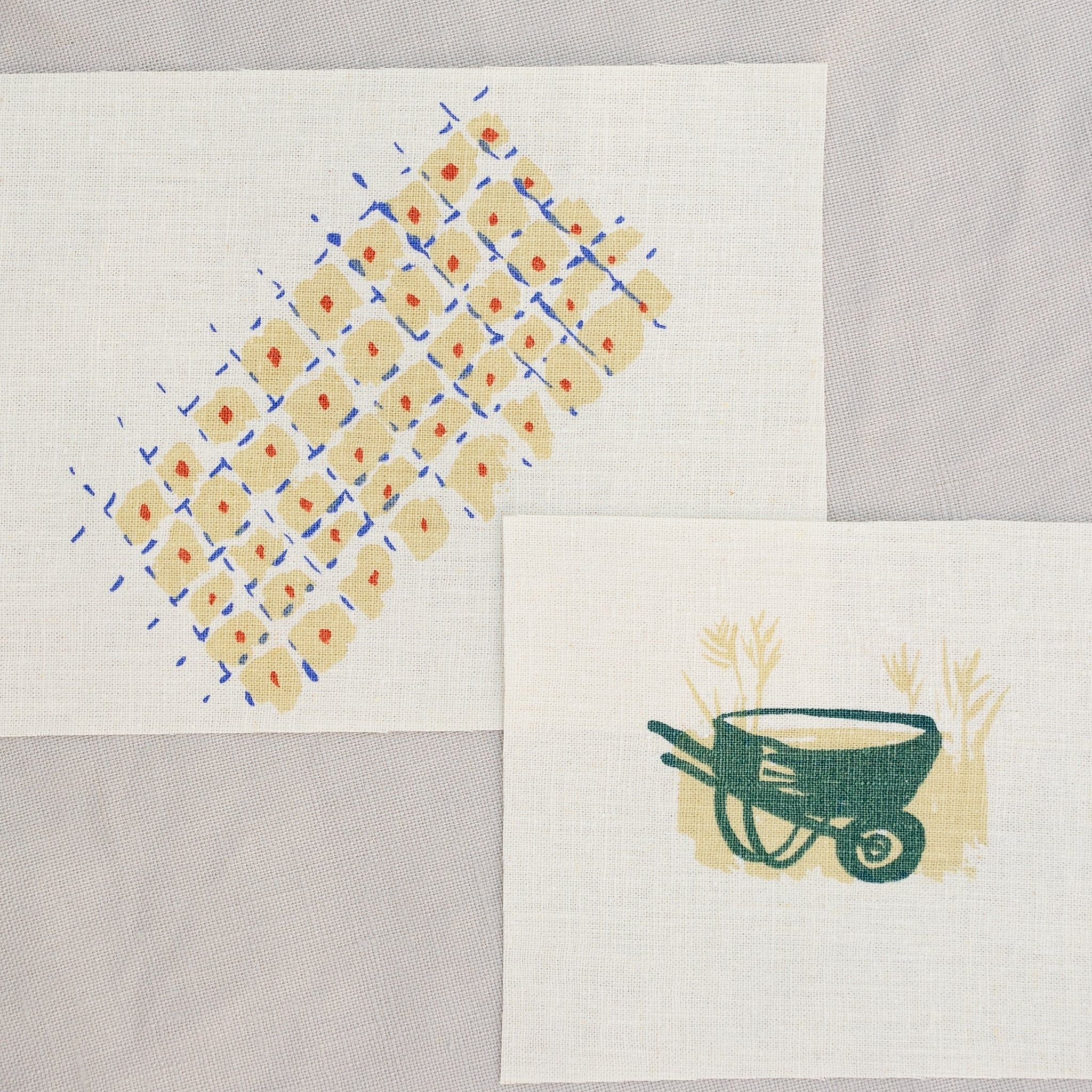 Patches: Quilt + Wheelbarrow