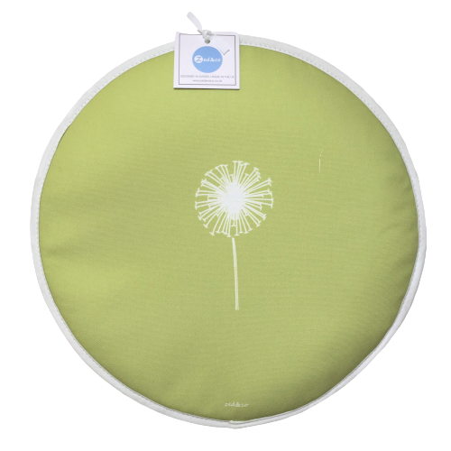 Dandelion Aga Covers In Pistachio - Pair