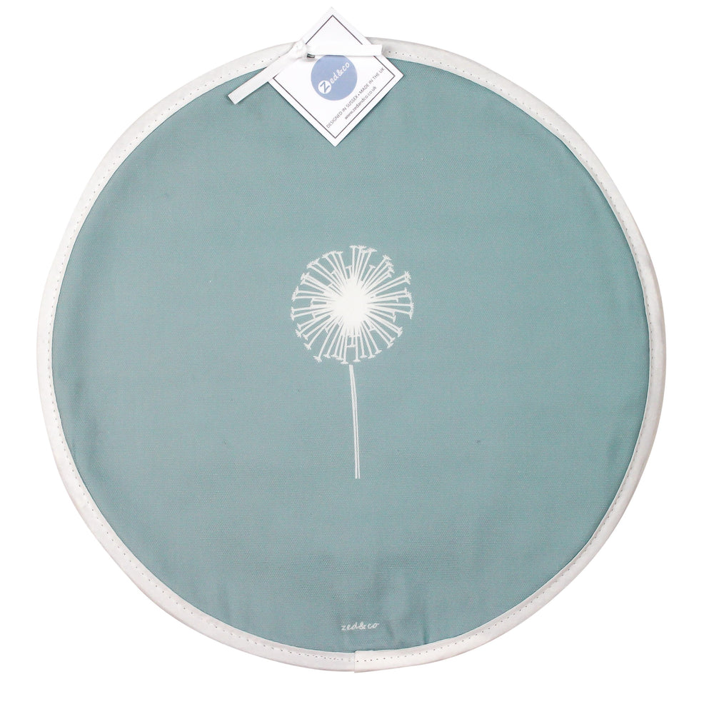 Dandelion Aga Covers In Soft Blue - Pair
