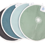 Dandelion Aga Covers In Soft Blue - Pair - Zed & Co