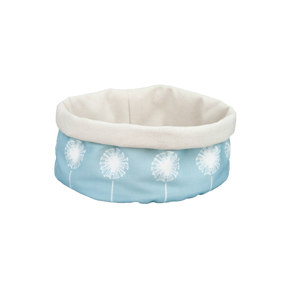 Dandelion Basket In Soft Blue
