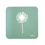Dandelion Coasters In Sage - Set of Four
