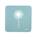 Dandelion Coasters In Soft Blue