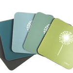 Dandelion Coasters In Sage - Set of Four - Zed & Co