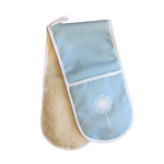 Dandelion Oven Glove In Soft Blue