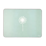 Dandelion Placemats In Aqua - Set of Four - Zed & Co