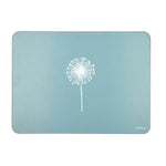 Dandelion Placemats In Soft Blue