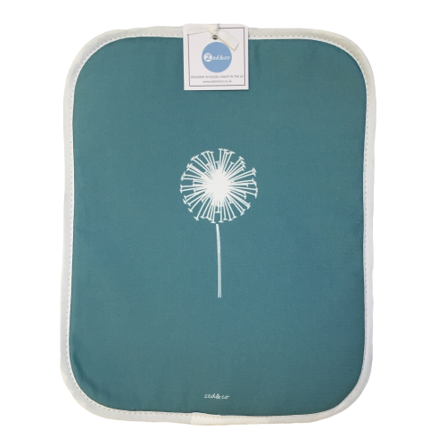Dandelion Rayburn Covers In Teal - Pair