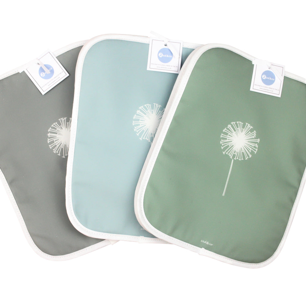 Dandelion Rayburn Covers In Sage - Pair - Zed & Co