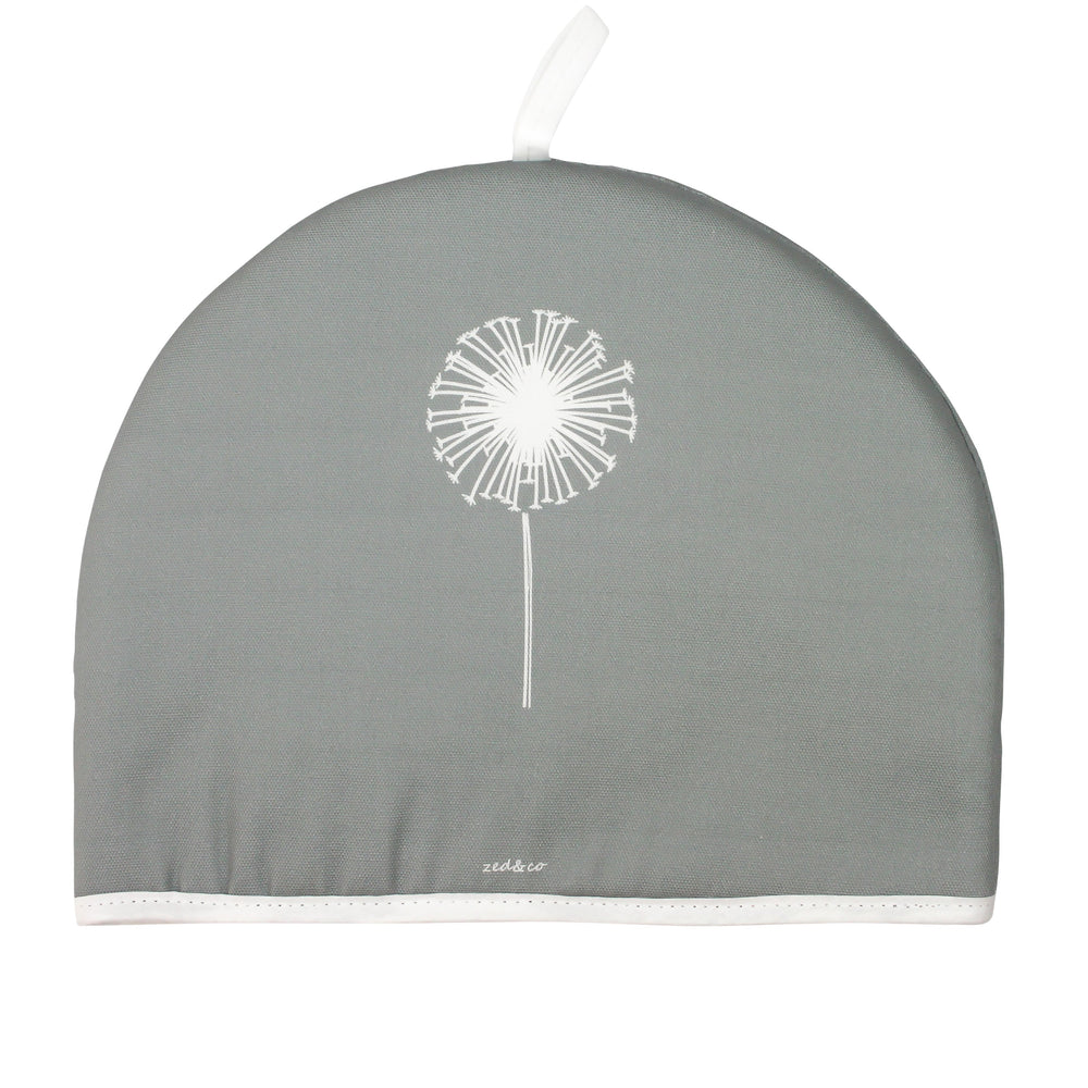 Dandelion Tea Cosy In Grey