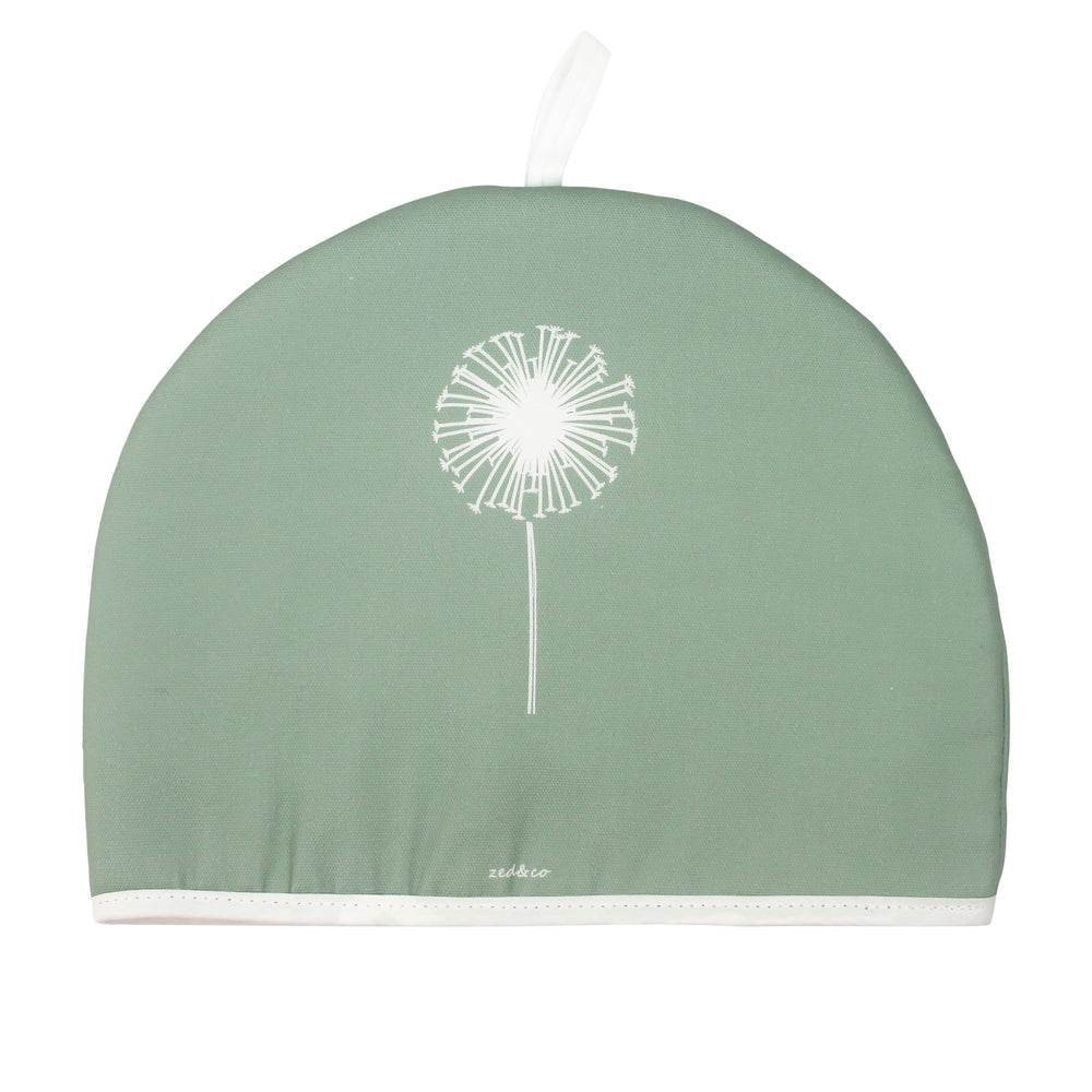 Dandelion Tea Cosy In Sage - Zed & Co