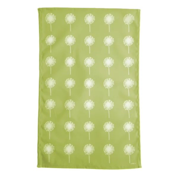 Dandelion Tea Towel In Pistachio