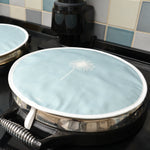 Hedgehog Aga Covers In Soft Blue - Pair - Zed & Co