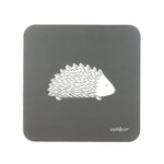 Hedgehog Coasters In Grey - Set of Four