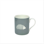 Hedgehog Mug In Dove