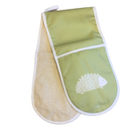 Hedgehog Oven Glove In Pistachio