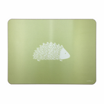 Hedgehog Placemats In Pistachio - Set of Four